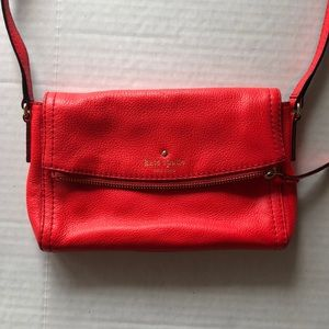 Kate Space Coral Crossbody Purse